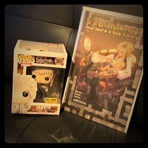 Labyrinth Pop & Comic Book